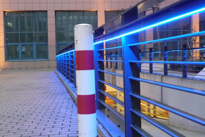 Alte Post, Dortmund / Handlaufbeleuchtung