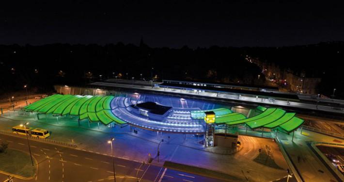 Verkehrsplatz Essen Steele - Foto: lokomotiv.de Leuchten
