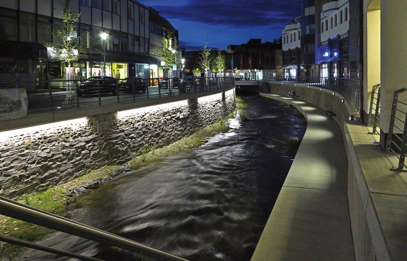 Henne Boulevard, Meschede - TLV Lichtplanung