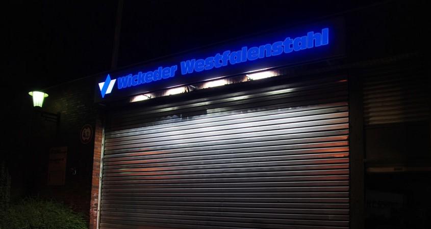Wickede Westfalenstahl - Foto: P.Vogt