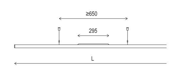 instalight Tec 1130 Masszeichnung