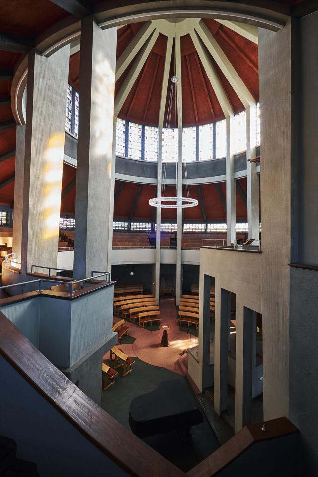 Auferstehungskirche Essen, Lichtkuppel