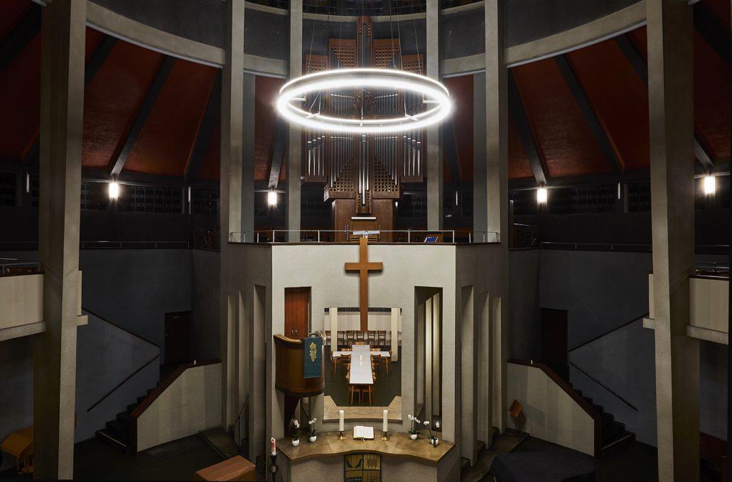 Auferstehungskirche Essen, LED-Ring