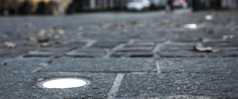 instalight 3090 Bodenpunkt im Detail - Foto: Boris Golz