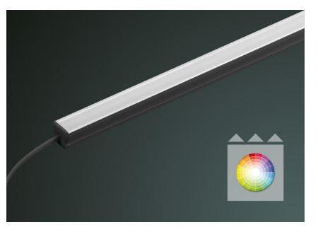 LEDLUX LX RGB prisma Lichteinsatz