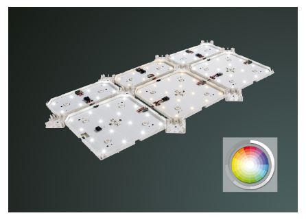 LEDLUX LX RGBW plane Lichteinsatz