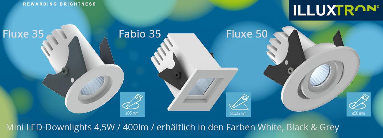 Illuxtron Mini-Downlights - TLV Lichtplanung