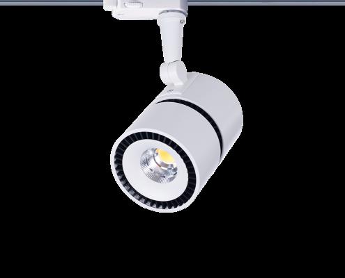 Point LED-Schienenstrahler