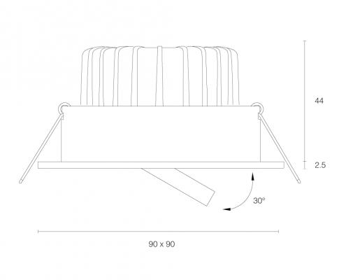 Smooth-vierkant-inbouw-draaikantelbaar-6W-T01